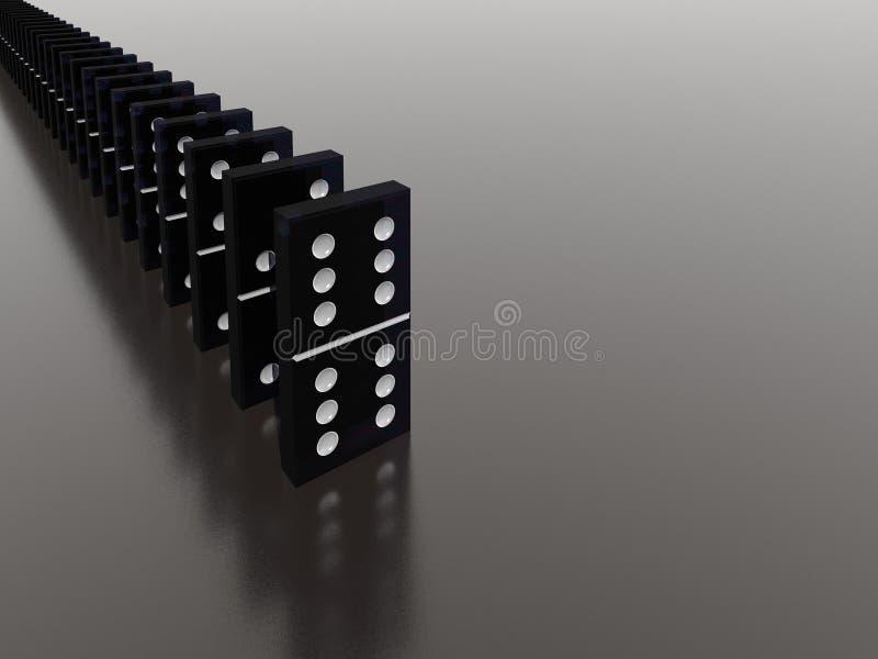 Domino photos stock