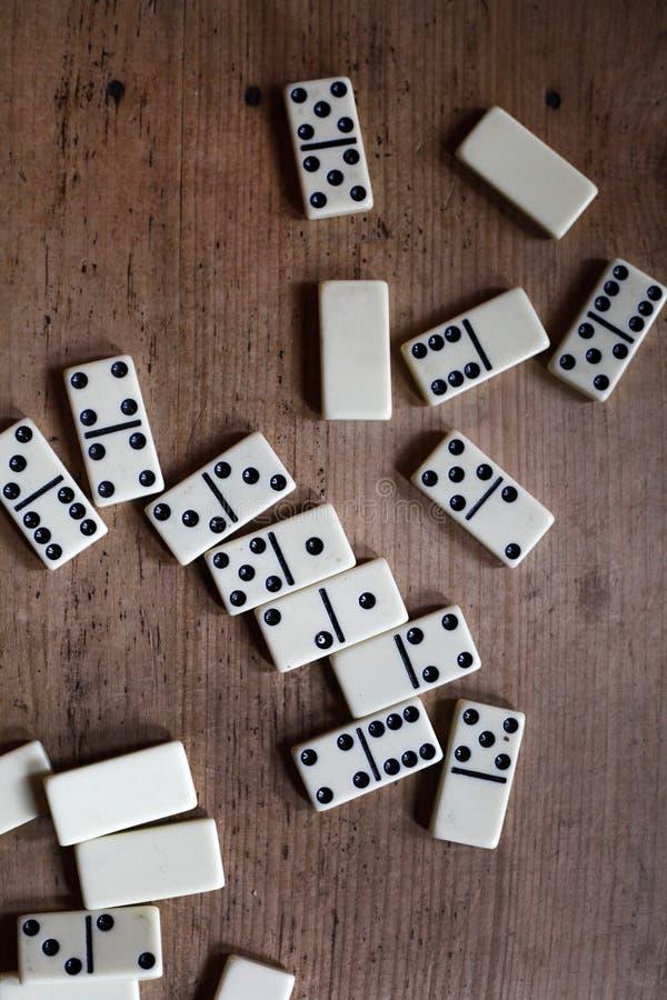 Domino fotografia stock