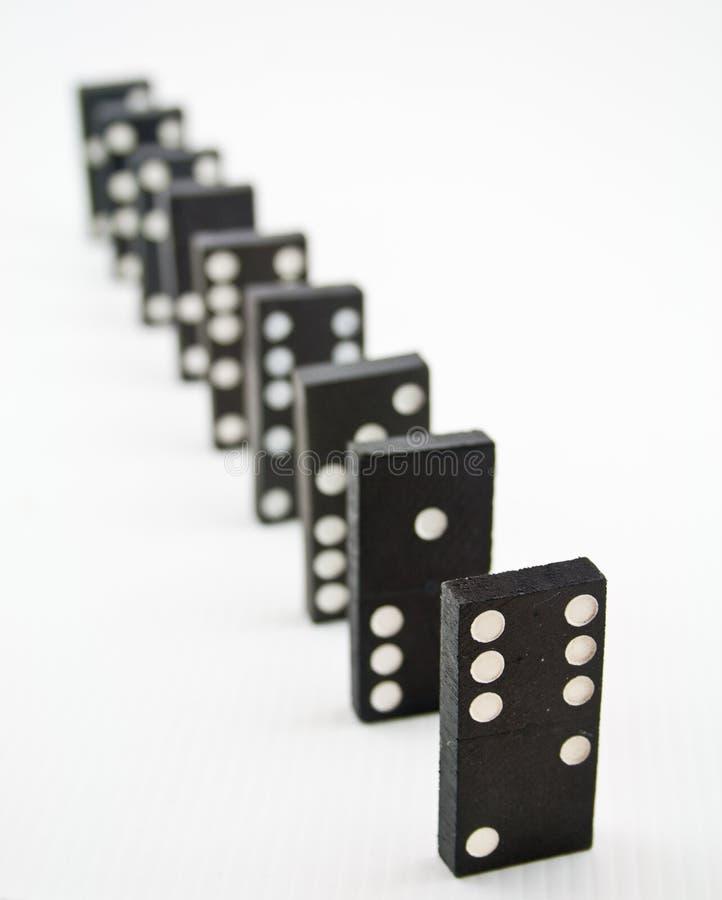 Domino 2 photographie stock libre de droits