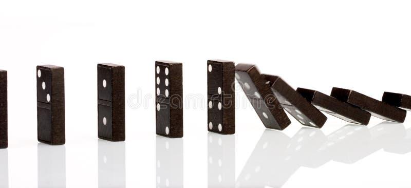 domino 2 zdjęcia stock