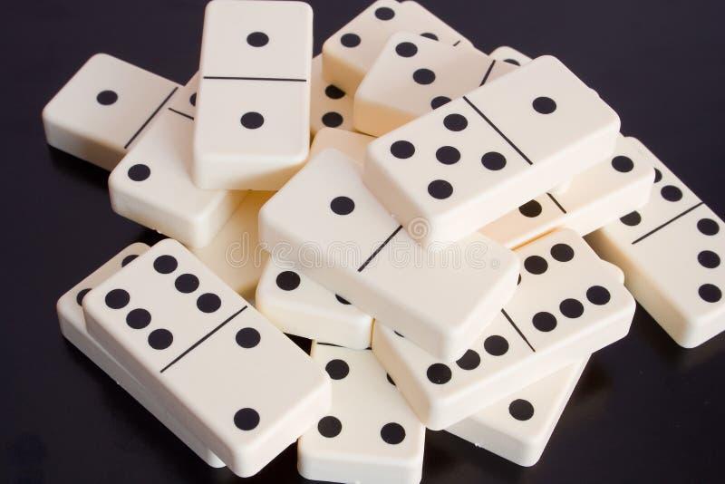 Domino royalty-vrije stock foto