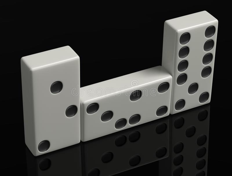 Download Domino stock image. Image of accuracy, confusion, betting - 20492003