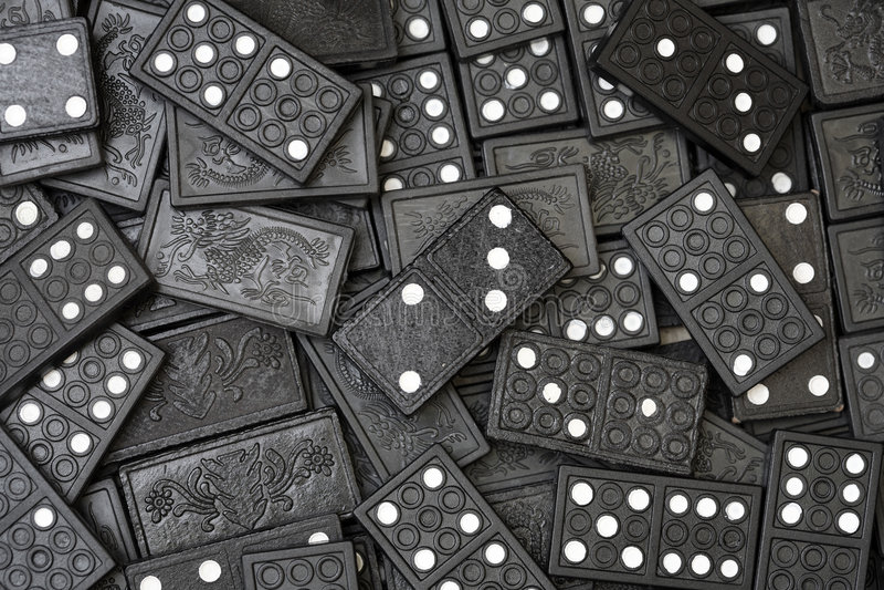 domino obrazy royalty free