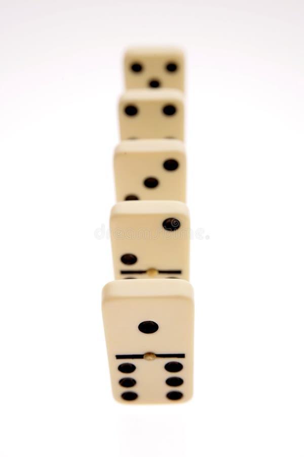 Domino fotografie stock