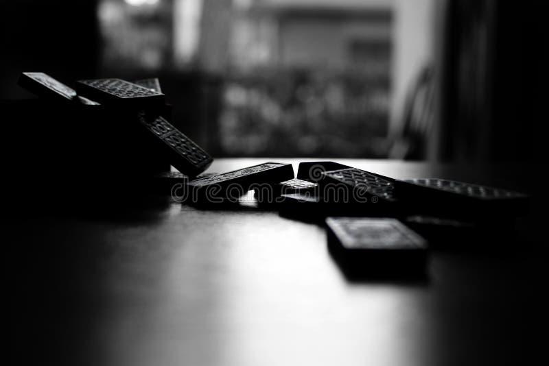 Domino royaltyfria bilder