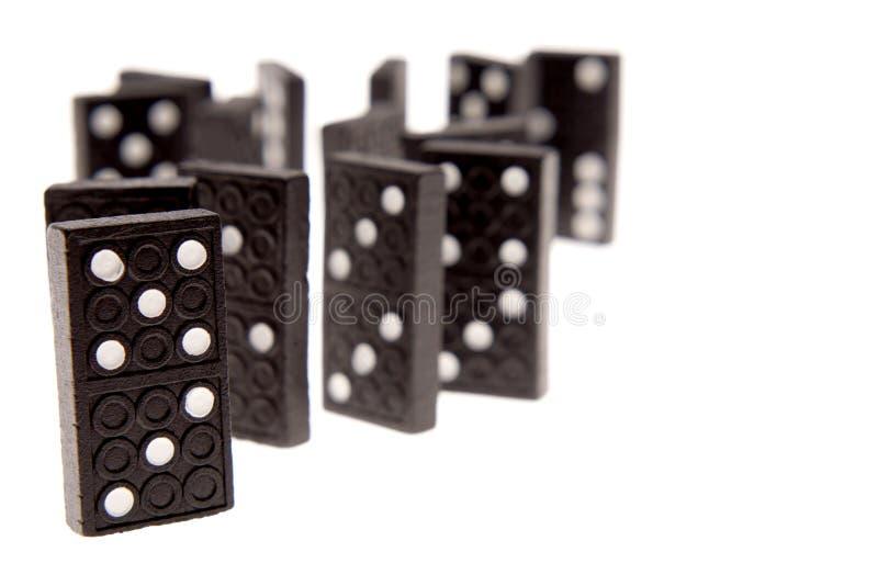 Domino immagini stock libere da diritti