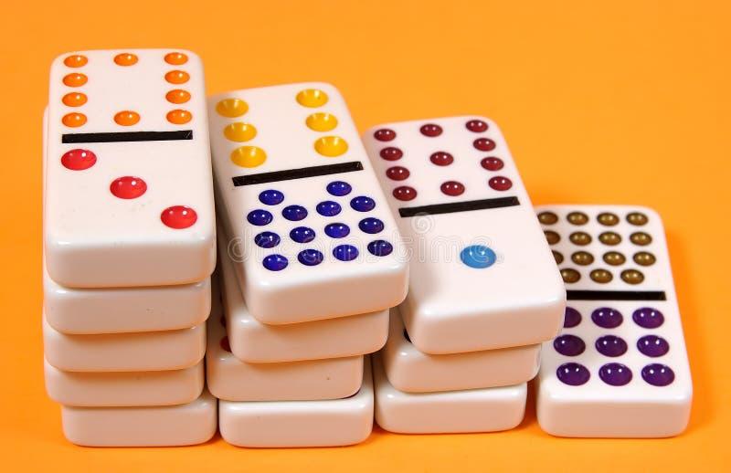 domino obraz stock