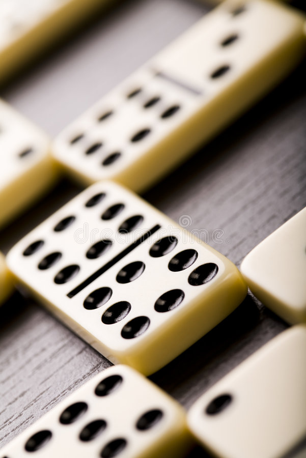 Domino photographie stock libre de droits