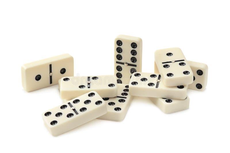 Domino royaltyfri foto