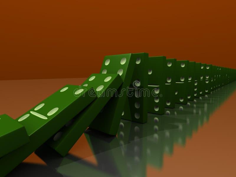 Domino 向量例证