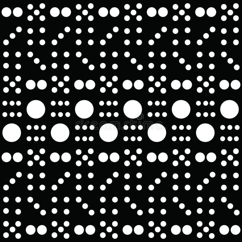 Domino Art Pattern stock foto's