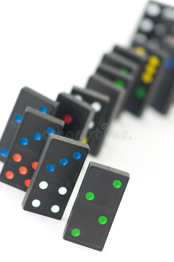 Download Domino Bricks Stock Image - Image: 16511