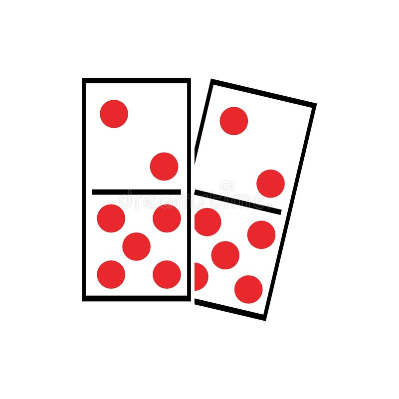 domino vector illustration
