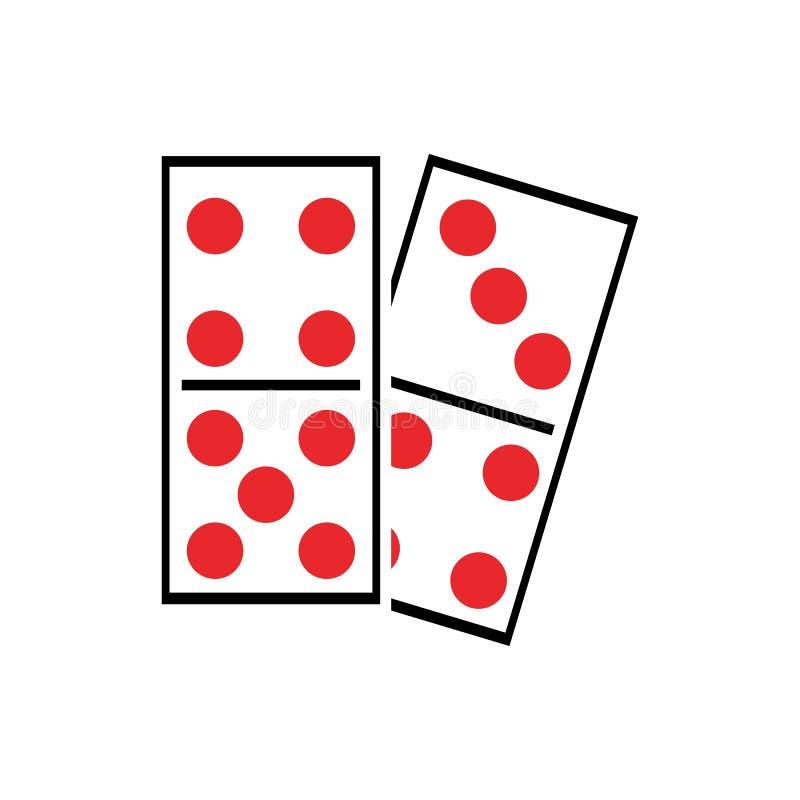 domino stock illustration