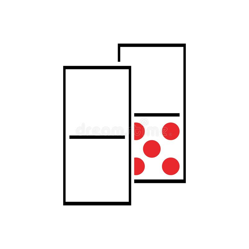 domino royalty free illustration