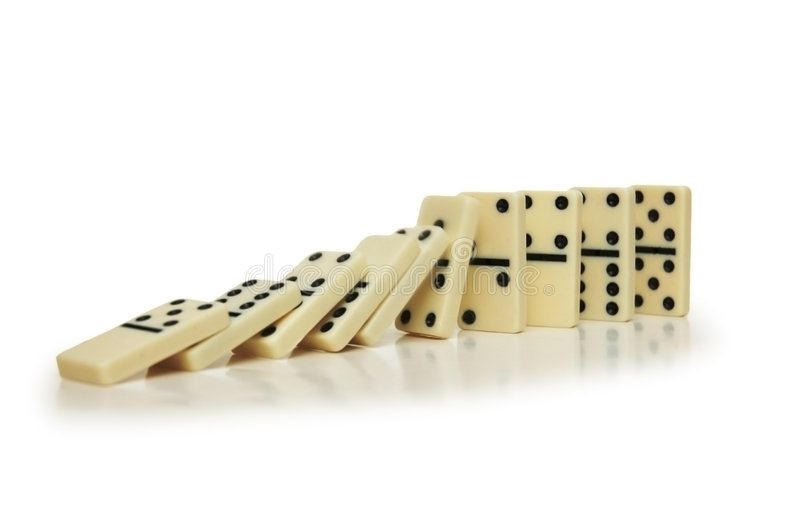 Download Domino effect stock photo. Image of dominoe, playing, motion - 1414642
