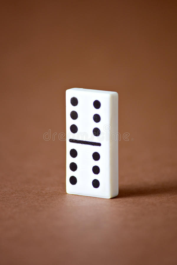 Domino Entertainment Game Stock Image