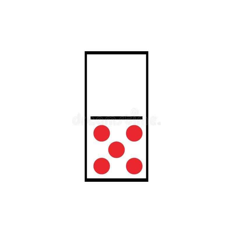 Domino ilustracja wektor