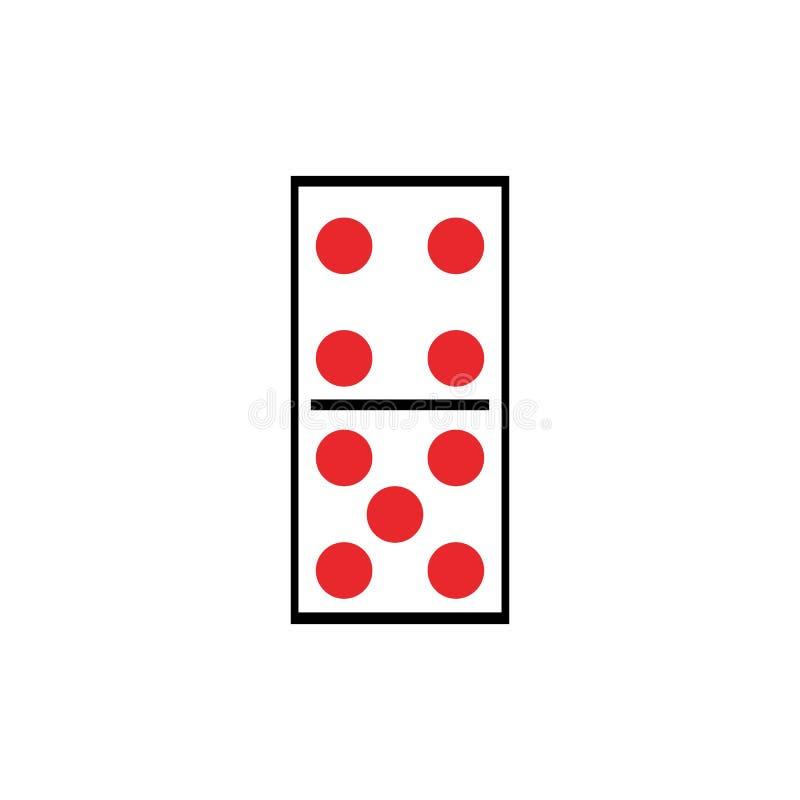 Domino royalty ilustracja