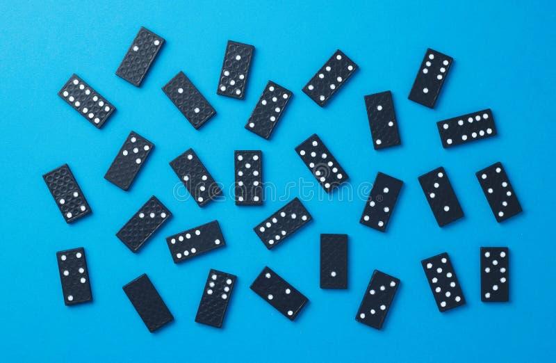 Domino kawałki obrazy royalty free