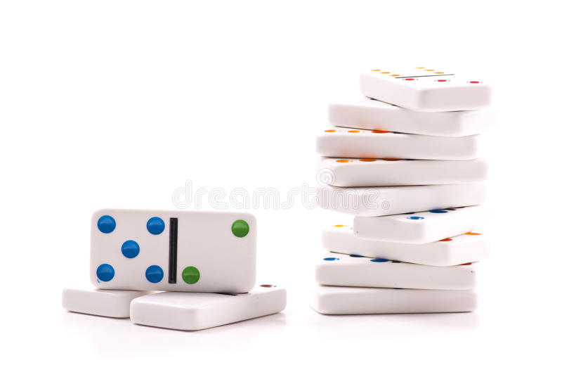Download Domino Pieces Royalty Free Stock Photo - Image: 18258645