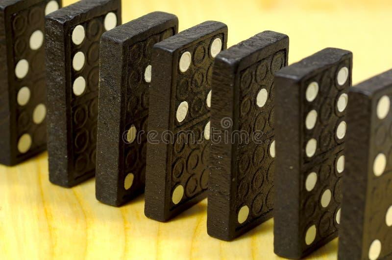 Domino's royalty-vrije stock afbeeldingen