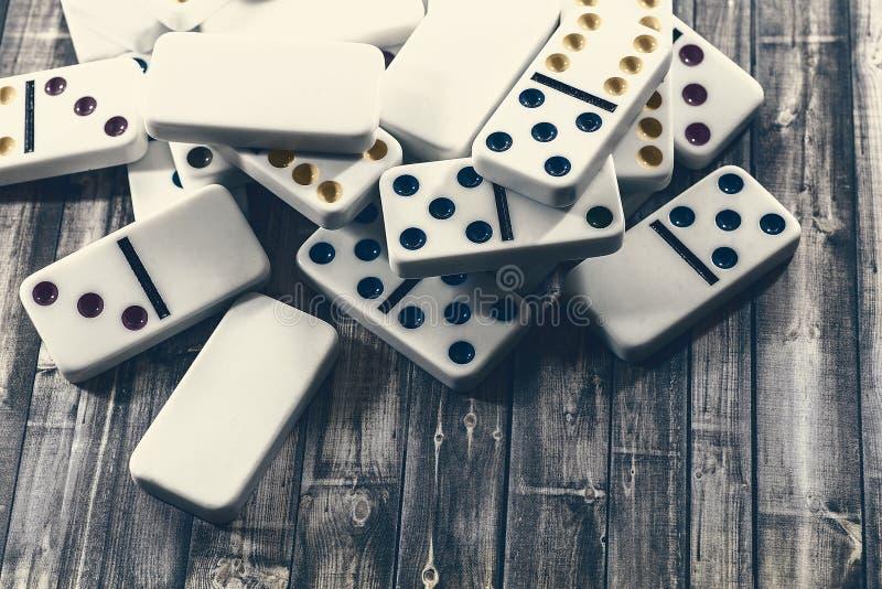 Domino'sspel royalty-vrije stock foto's
