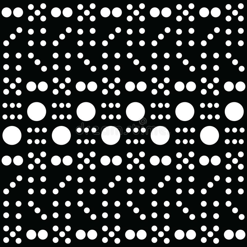 Dominobricka Art Pattern arkivfoton