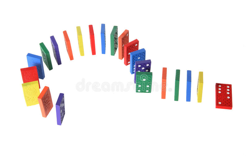 Download Dominoes stock photo. Image of doubt, still, object, shot - 18477794