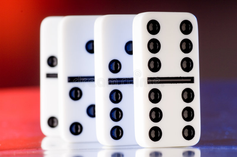 Download Dominoes stock image. Image of effect, dominos, chain - 2793203