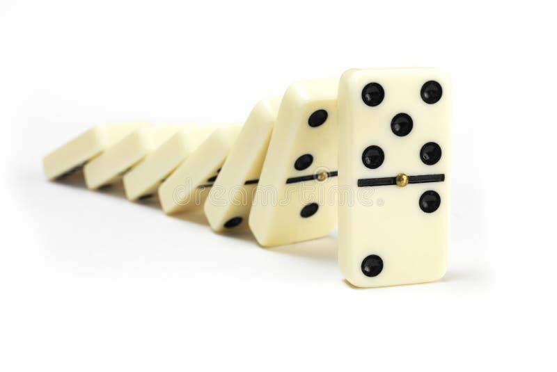 dominoes stockbild