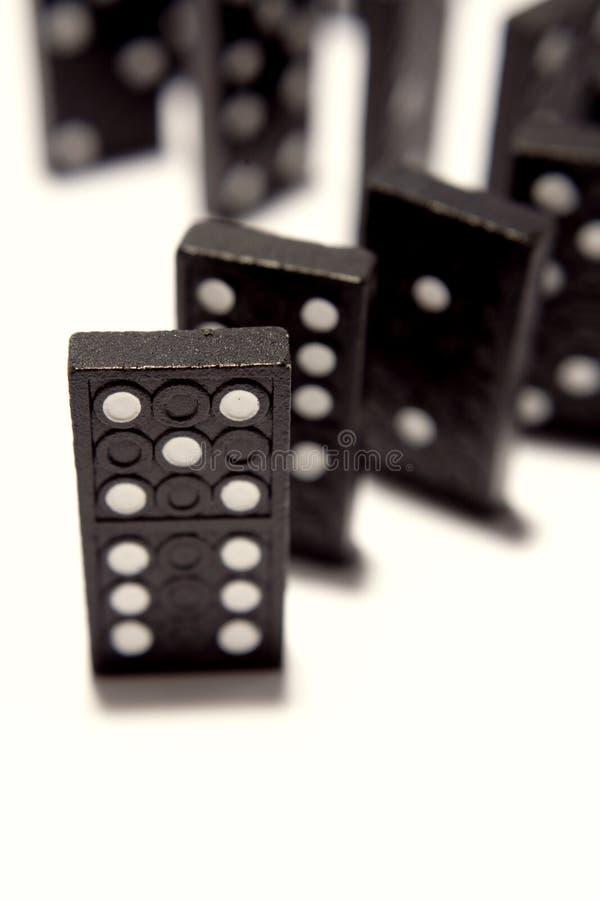 Dominoes stock image