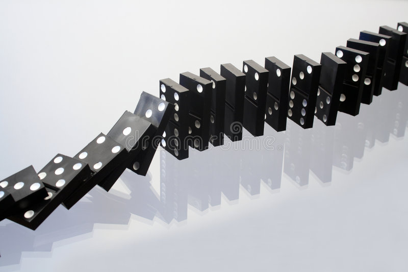 Download Dominoes stock photo. Image of reverberation, game, play - 7239214