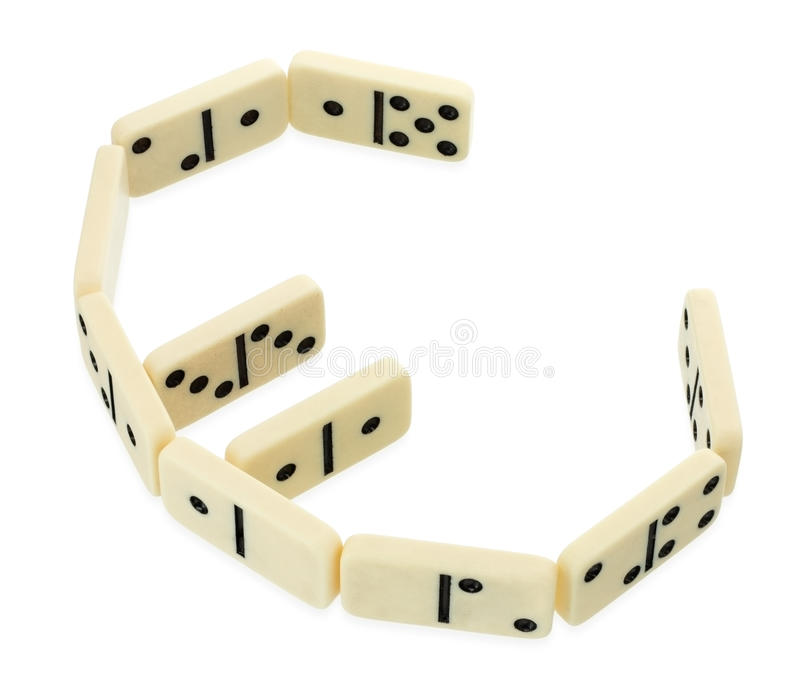 Download Dominoes In Shape Of Euro Currency Symbol Stock Photo - Image of economy, ideas: 24234338