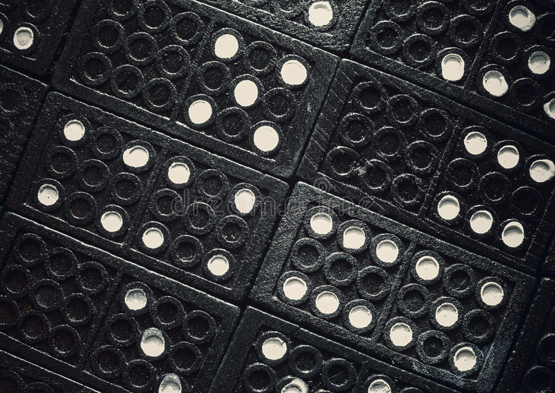 Dominoes Textures stock images