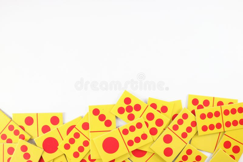 Dominokarte stockfoto