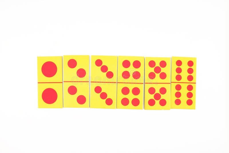 Dominokarte lizenzfreies stockbild