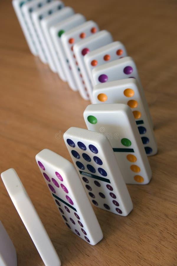 Dominos stockfotografie