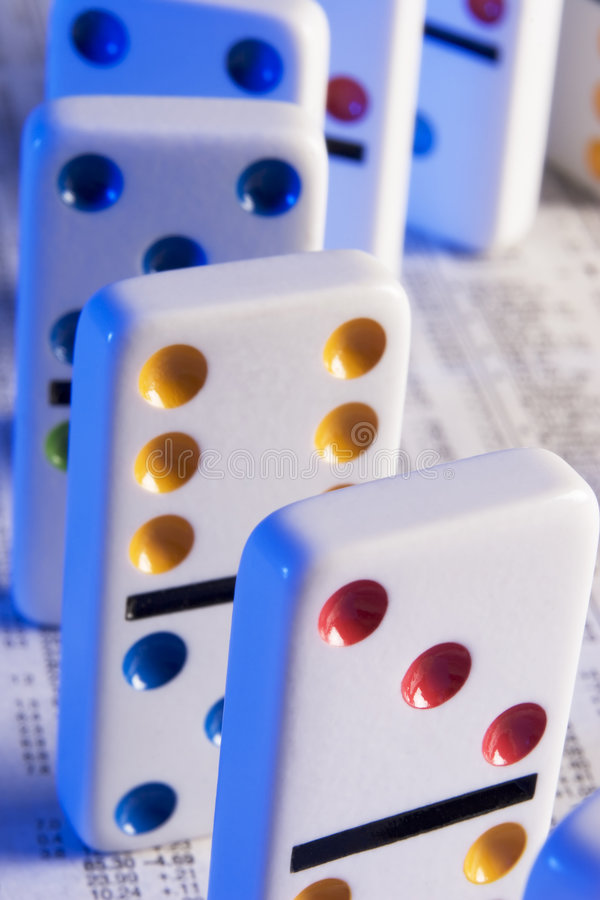Dominos royalty free stock photo