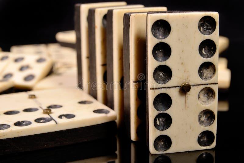 Dominos stockfotos