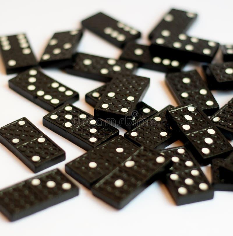 Dominos photos libres de droits