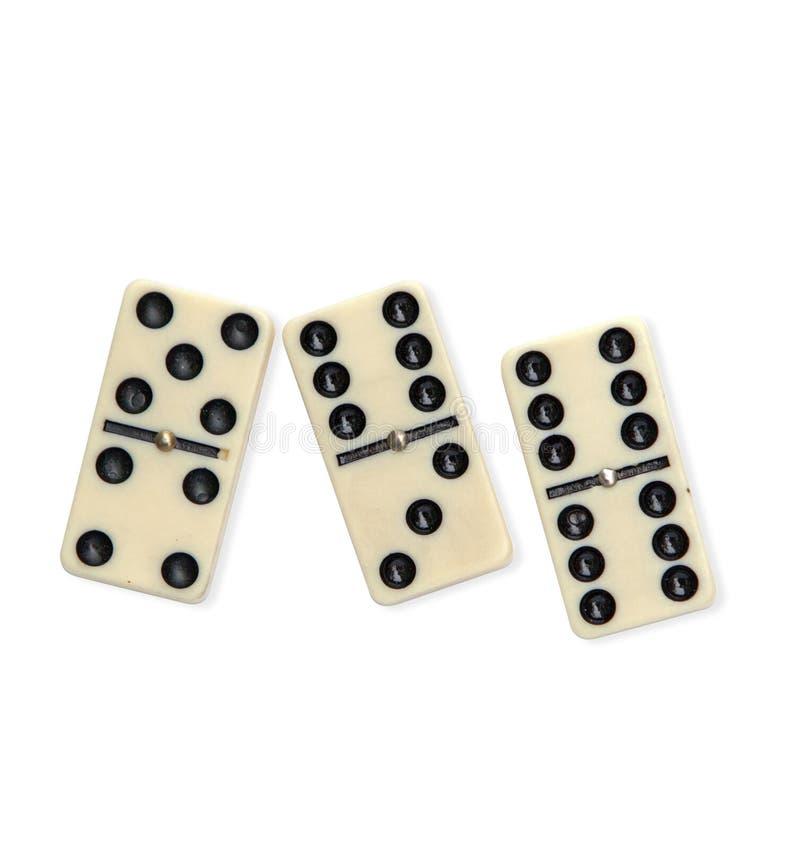 Dominos image libre de droits