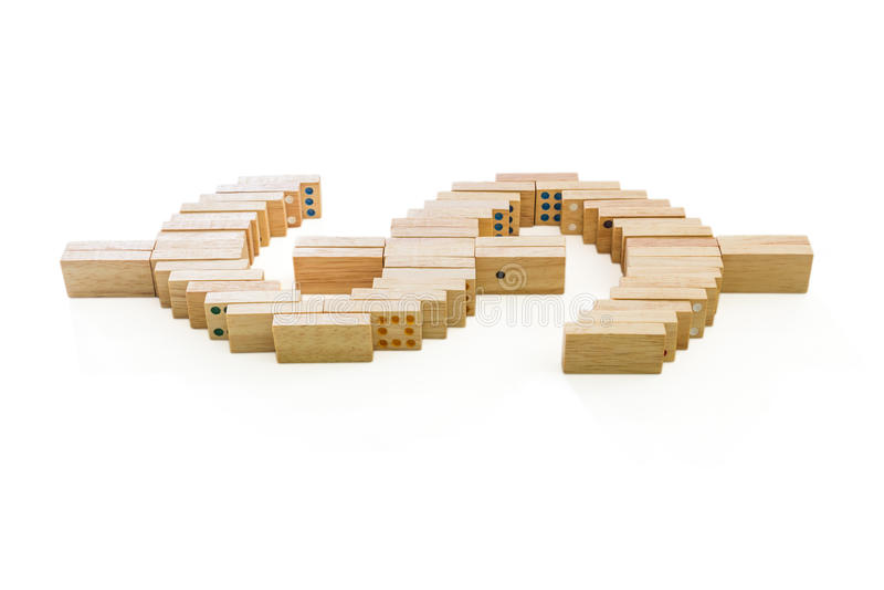 Download Dominos  dollar symbol stock image. Image of dominoes - 28639549