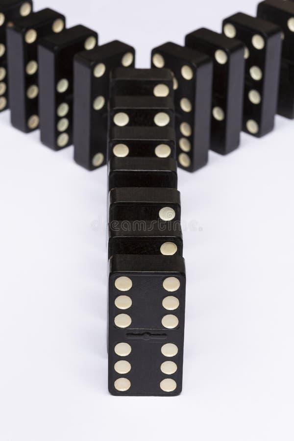 Dominos Y photos libres de droits