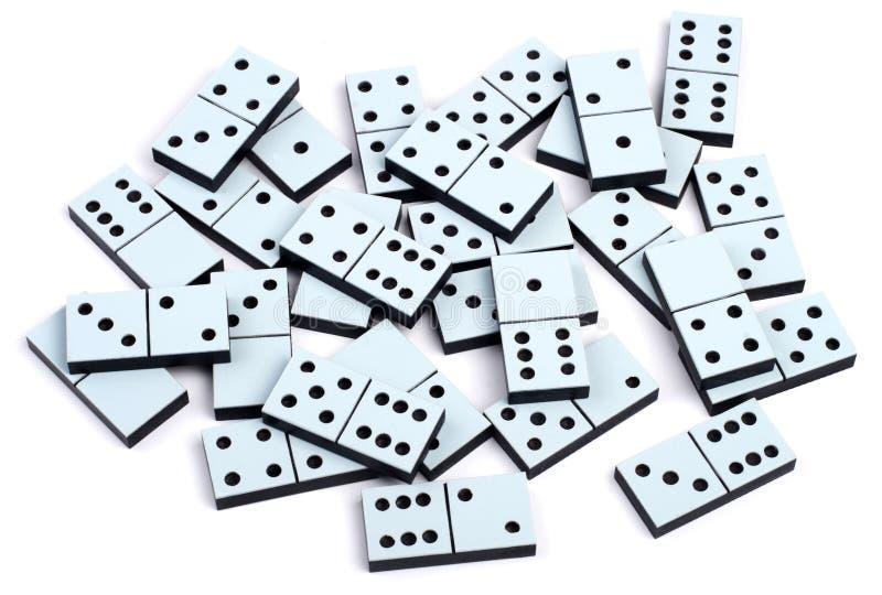 Dominostücke lizenzfreie stockfotos