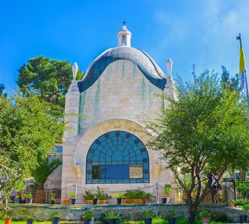 The Dominus Flevit Church stock image. Image of city - 68049125