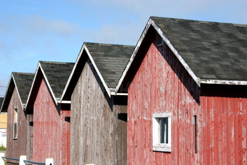 domki połowów fotografia stock