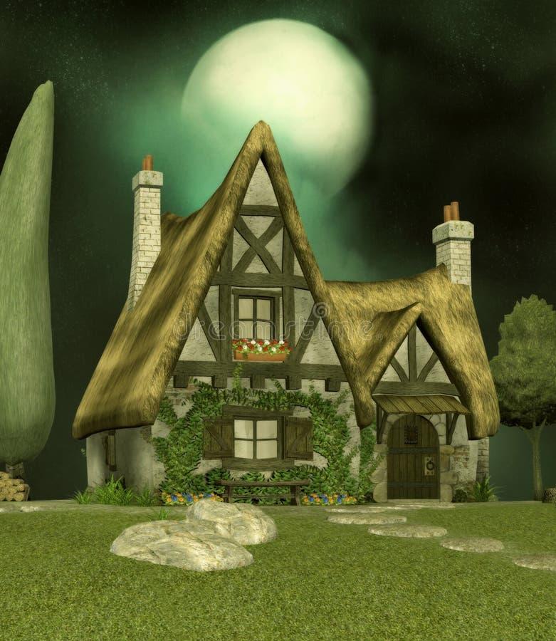 domki wróżka ilustracji