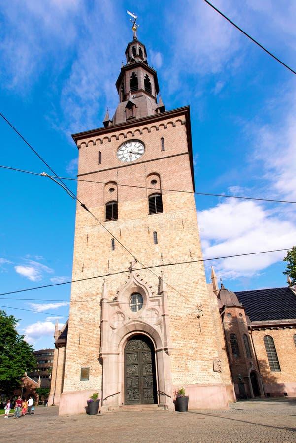 Domkirke de Oslo foto de archivo libre de regalías