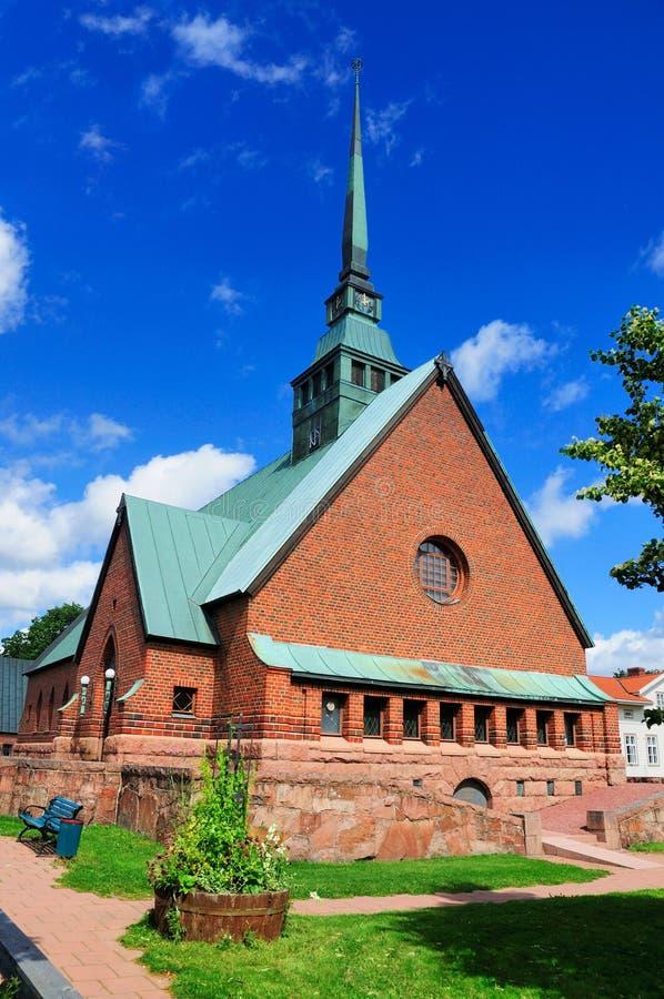 Domkyrka av Aland, Finland royaltyfria bilder